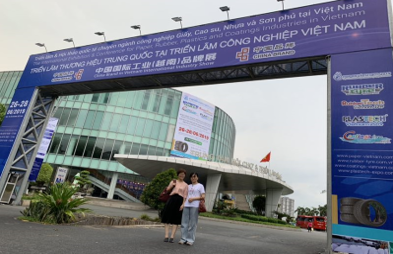 China Vinyl Resin manufacturer attended Vietnam Coating Show