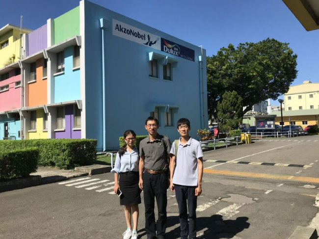 Sales Department's Trip To Taiwan